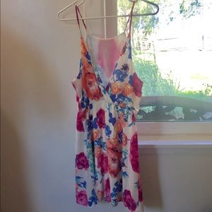 Beautiful floral above the knee dress